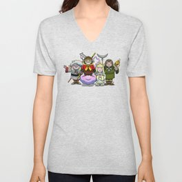 Monkey Magic Crew! Unisex V-Neck