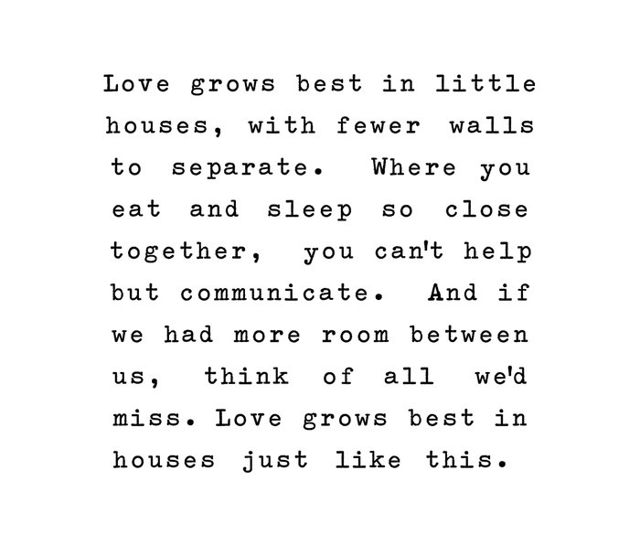 Love Grows Best In Little Houses Metal Travel Mug