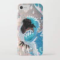 custom iPhone & iPod Cases featuring The Unstoppabull Force by Mat Miller