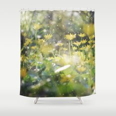 Sunbath Shower Curtain