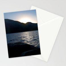 Fallen Leaf Lake at Sunset Stationery Cards