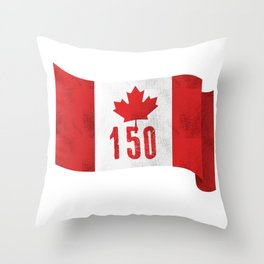 Canada 151 Canada Day Celebrations July 1s Throw Pillow
