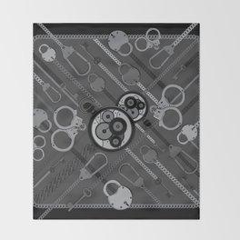 Locks & Chains Scarf Print Throw Blanket