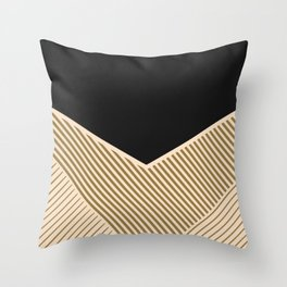 Geometric in line Throw Pillow