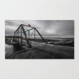 Catalone Gut Bridge - Cape Breton Canvas Print
