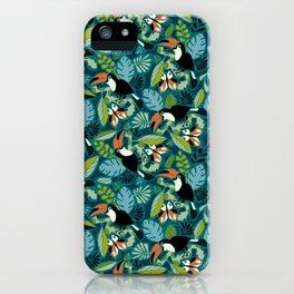 Toucan Tropics iPhone Case