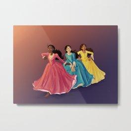 The Schuyler Sisters Metal Print