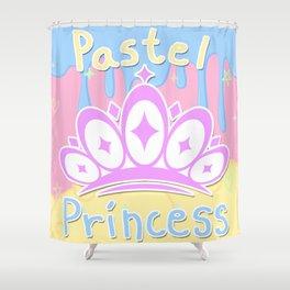 Pastel Princess Shower Curtain