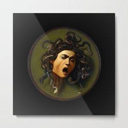 Merisi da Caravaggio - Medusa Metal Print