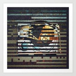 Discardtech (Information) Art Print