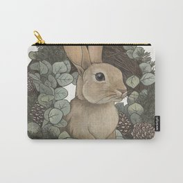 winter rabbit Carry-All Pouch