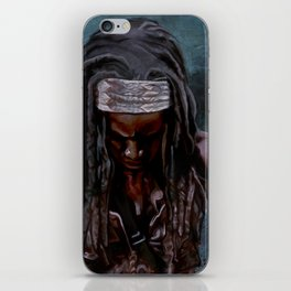 Michonne And Her Sword - The Walking Dead iPhone Skin