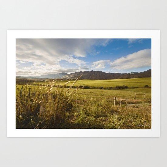 Down in the meadow Art Print