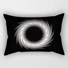 Paper Cut Torus - 01 Rectangular Pillow