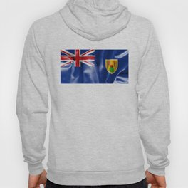Turks and Caicos Islands Flag Hoody