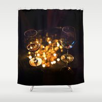 drunk Shower Curtains featuring Drunk x2 by Ivan Wong