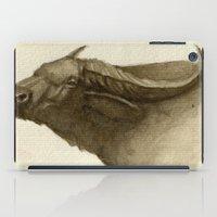 buffalo iPad Cases featuring Buffalo by Vito Quintans