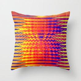 Ripples in a dream Throw Pillow