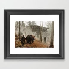 1920 - into the wild Framed Art Print