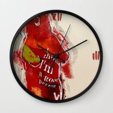 I think I'm a good person Wall Clock