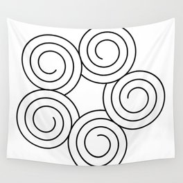 Spirals Wall Tapestry