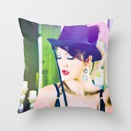 4951 Mistress Dancer Natasha Z Throw Pillow