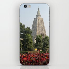 Buddhist Monks at The Temple iPhone Skin