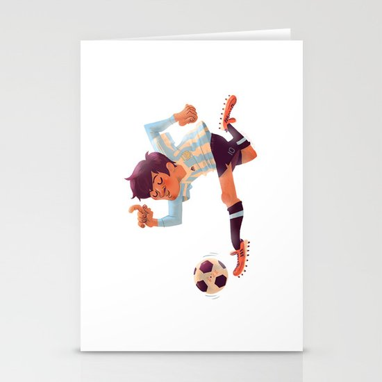 Lionel Messi, Argentina Jersey Stationery Cards