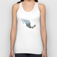 mexico Tank Tops featuring Mexico by Isabel Moreno-Garcia