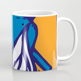 The Fly in Orange and Blue Coffee Mug