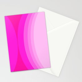 Moons - Pinks Stationery Cards