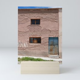 Bolivia door 4 Mini Art Print