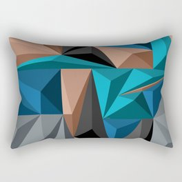 Polygon 2 Rectangular Pillow