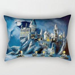 Moonlit Magic Rectangular Pillow