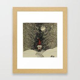 """""""Tomten Elmer"""" call of nature. Framed Art Print"""