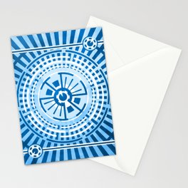 Hour of Krona (Blue) Stationery Cards