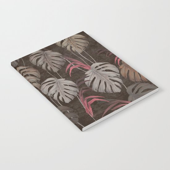 Earthy Leaves  Notebook