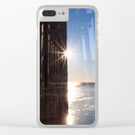 The Balance of Opposites Clear iPhone Case