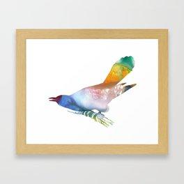 Cuckoo Framed Art Print