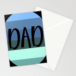 Dad retro vintage Stationery Cards