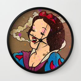 Snow White Girl Wall Clock