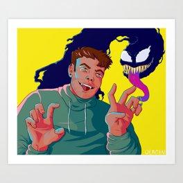 Symbrock - BLEP Art Print