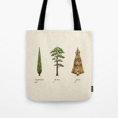 Fur Tree Tote Bag