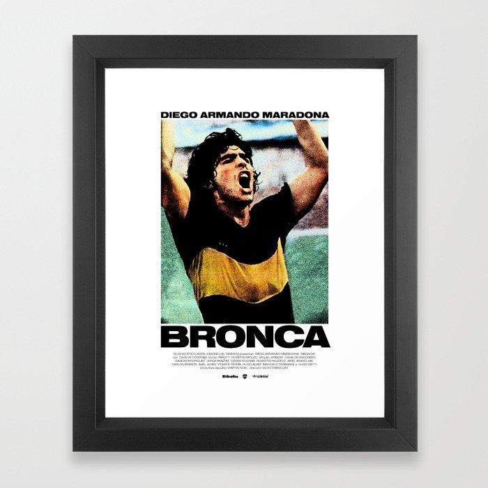 Bronca Framed Art Print