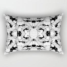 Rings 2 Rectangular Pillow