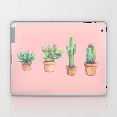pink four cactus Laptop & iPad Skin