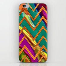 Alien Sun Chevron iPhone & iPod Skin