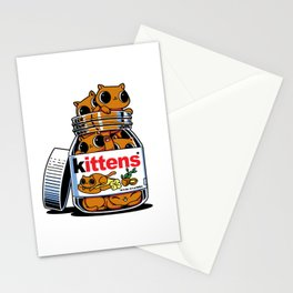 Nutella Cat Stationery Cards