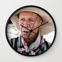 Mexican Rancher Wall Clock