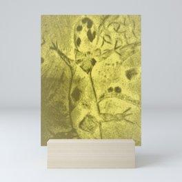 Old footprint Mini Art Print